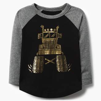 Monster Truck Raglan Tee