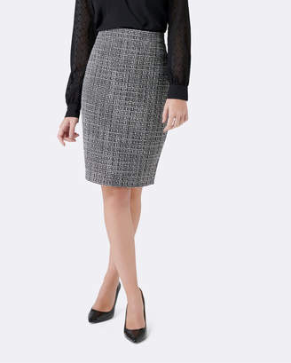 Forever New Katie Boucle Pencil Skirt