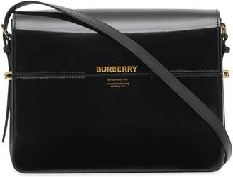 Burberry Large Leather Grace Bag