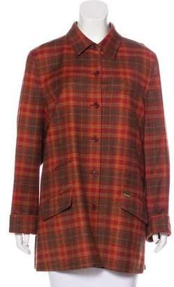 Façonnable Wool Short Coat
