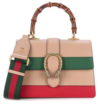 Gucci Dionysus Bamboo Medium leather shoulder bag