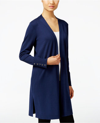 JM Collection Open-Front Duster Cardigan, Only at Macy's $59.50 thestylecure.com