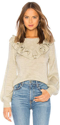 Lovers + Friends Juliet Ruffle Sweater