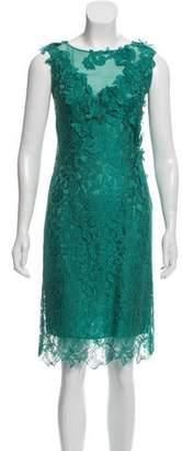 Philosophy di Alberta Ferretti Lace Knee-Length Dress