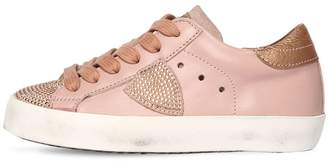 Philippe Model Paris Studded Leather Sneakers
