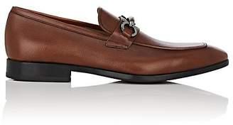 Salvatore Ferragamo Men's Benford Textured Leather Loafers