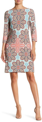 Maggy London Print Shift Dress $118 thestylecure.com