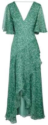 Keepsake Ditsy Printed Chiffon Maxi Dress