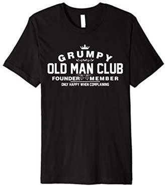 Grumpy Old Man Club T-Shirt TShirt
