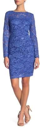 Marina Glitter Lace Dress (Petite)