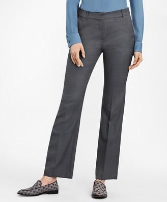 Brooks Brothers Bird's-Eye Stretch-Wool Pants
