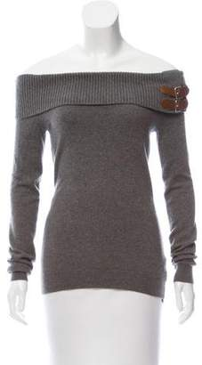 Ralph Lauren Cashmere Ribbed Knit Top