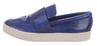 Loeffler Randall Embossed Slip-On Sneakers