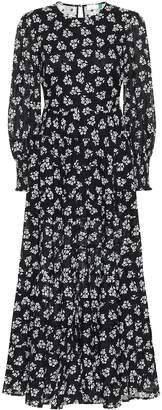 Rixo Pip floral cotton maxi dress