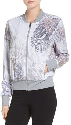 Women's Zella Street To Studio Reversible Bomber Jacket $129 thestylecure.com