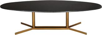 Tov Furniture Gemma Black Marble Cocktail Table