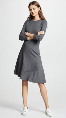 Vince Asymmetric Midi Dress