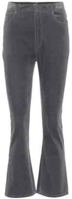 Miu Miu Kick-flare corduroy jeans