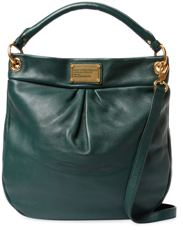 Marc By Marc Jacobs Classic Q Hillier Leather Hobo