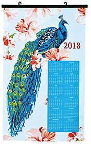 DIAMOND DOTZ Diamond Dotz Peacock 2018 Calendar Facet Art Kit