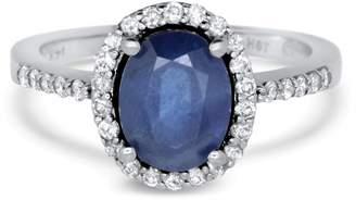 Alberto Oval Sapphire Ring