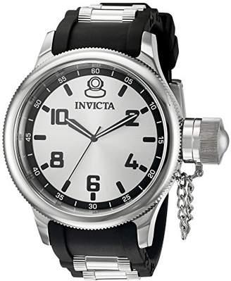 Invicta Men's 1435SYB Russian Diver Analog Display Swiss Quartz Black Watch