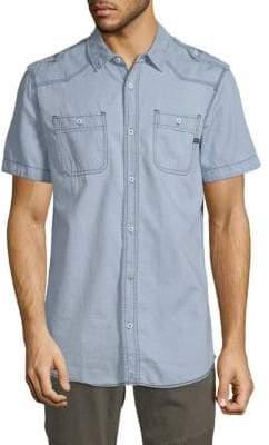 Buffalo David Bitton Solbert Short-Sleeve Shirt
