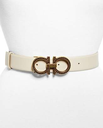 Salvatore Ferragamo New Gancini Chain Belt
