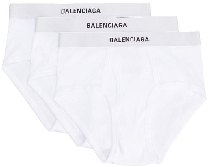 Balenciaga SET BAL RIB SLIP NEW LOGO