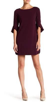 Vince Camuto Tulip Bell Sleeve Dress (Petite)