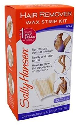 Sally Hansen Hair Remover Wax Strip Kit Body/Leg/Arm/Bikini (6 Pack)