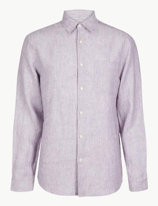 Marks and Spencer Pure Linen Shirt