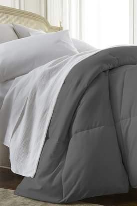IENJOY HOME Home Spun All Season Premium Down Alternative King Comforter - Gray