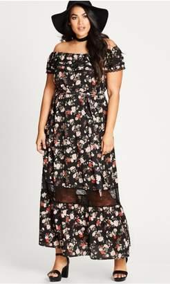 City Chic Citychic Free Love Maxi Dress