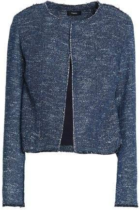 Bouclé Cotton-Blend Jacket