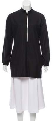 Saint Laurent Long Sleeve Wool Top