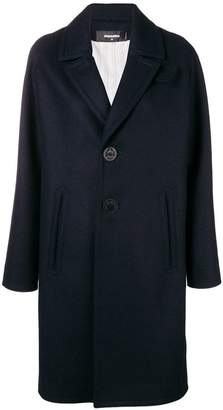 DSQUARED2 oversized overcoat