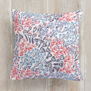 Wildflowers Square Pillow