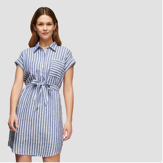Joe Fresh Women's Stripe Shirt Dress
