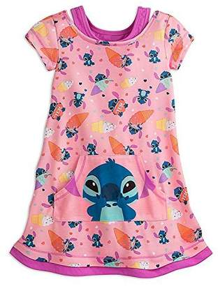 Disney Stitch Nightshirt for Girls Size 5/6