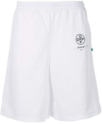 Off-White logo shorts