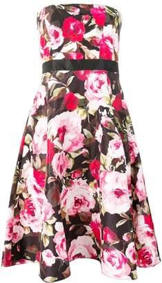 Liu Jo printed strapless dress