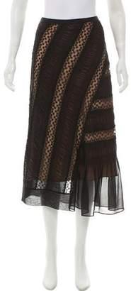 No.21 No. 21 Chiffon Midi Skirt w/ Tags