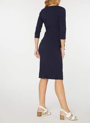 Dorothy Perkins **Maternity Ruched Wrap Dress