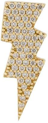 Anton Heunis gold and diamond lightning bolt earring