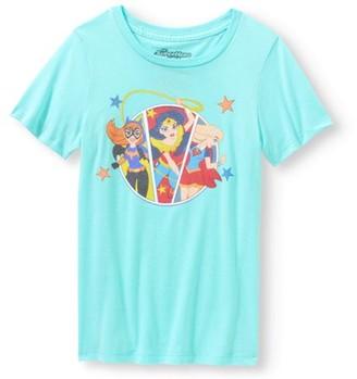 DC Girls Super Hero Characters T-Shirt