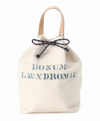 BONUM (ボナム) - BONUM No8 Canvas Draw String Bag M