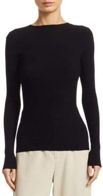 Vince Rib Long Sleeve Sweater