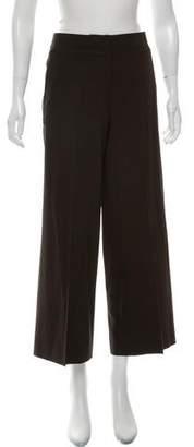 Akris Punto Wide-Leg Mid-Rise Pants