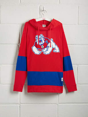 PINK Fresno State University Colorblock Crossover Tunic